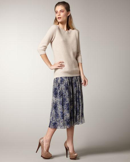 Louise Silk Skirt