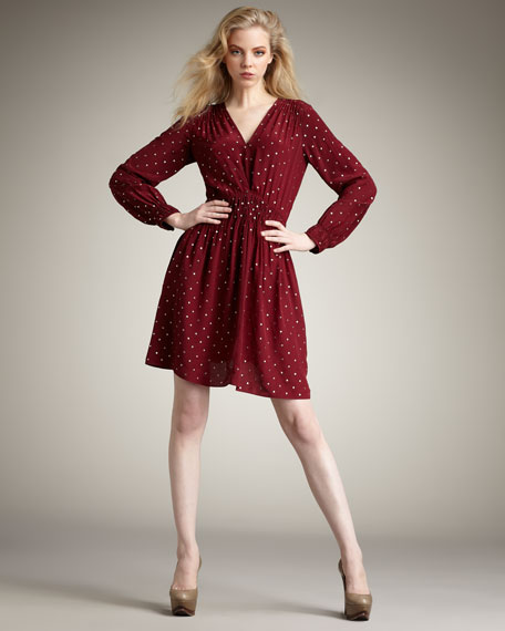 Nailhead Dress