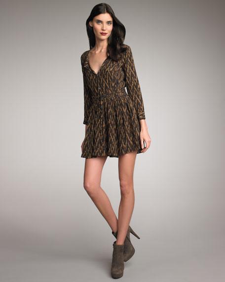 Paulina Printed Dress