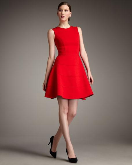 Swingy Ponte Dress