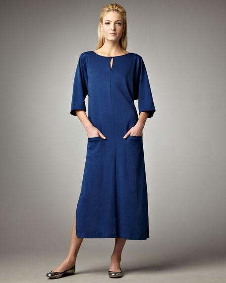 Keyhole-Top Long Dress