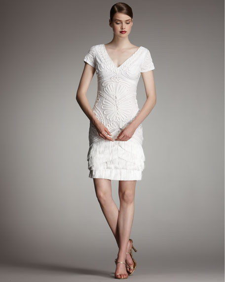 Sasha Cocktail Dress, Ivory