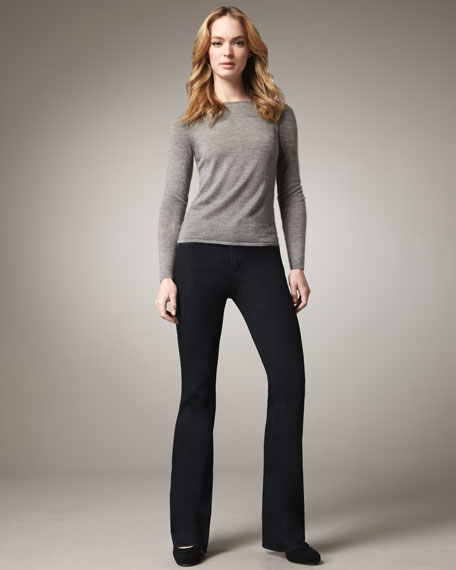 Grace Lagoon Boot-Cut Jeans