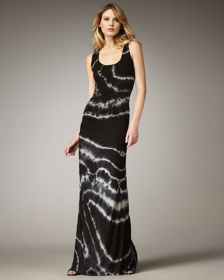 Maelle Tie-Dye Maxi Dress