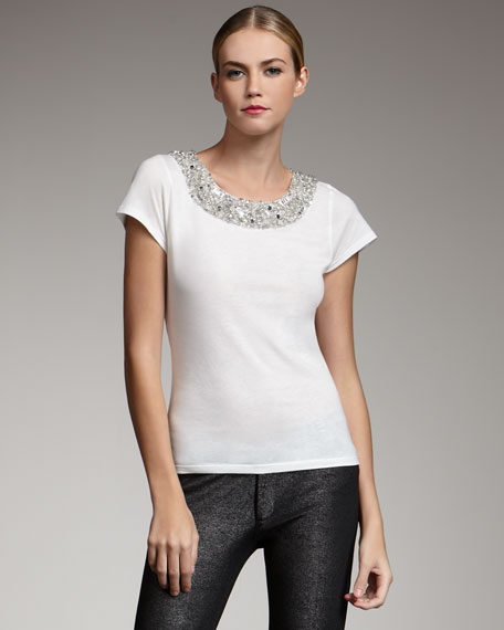 Remada Bead-Neck Top