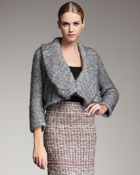 Florence Fuzzy Cropped Jacket