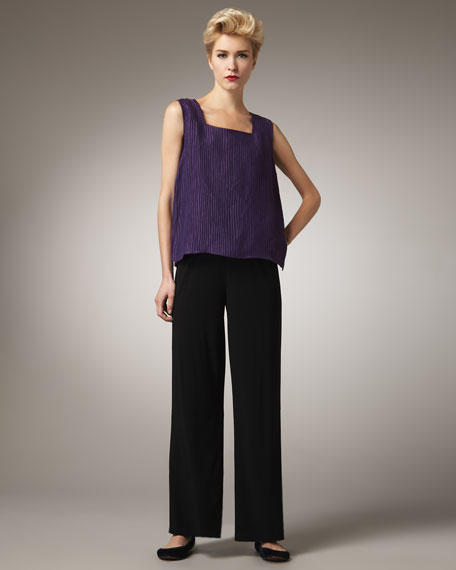 Knit Straight-Leg Pants, Women's