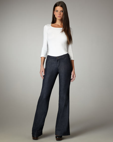 Wide-Leg Claudia Trousers
