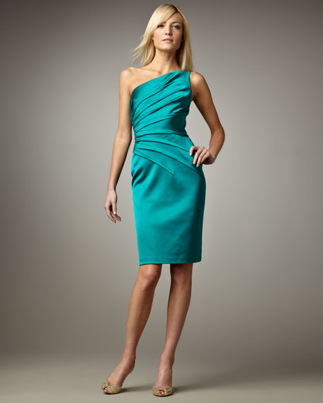 One-Shoulder Cocktail Dress