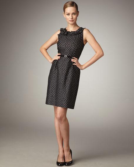 courtney polka-dot dress