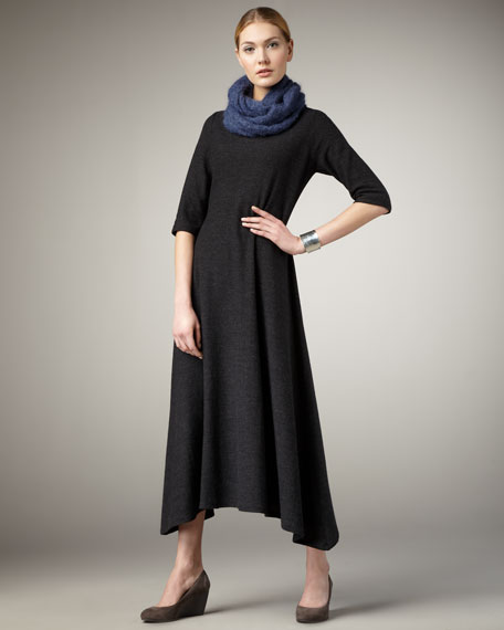 Long Knit Dress, Women's