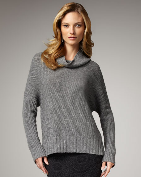 Washable-Wool Boxy Sweater