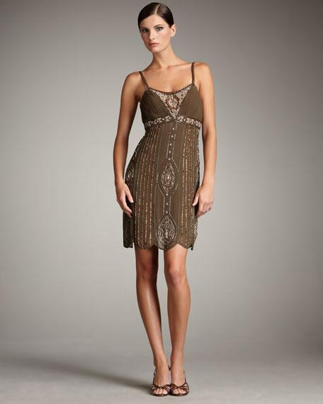 Art Nouveau-Beaded Dress