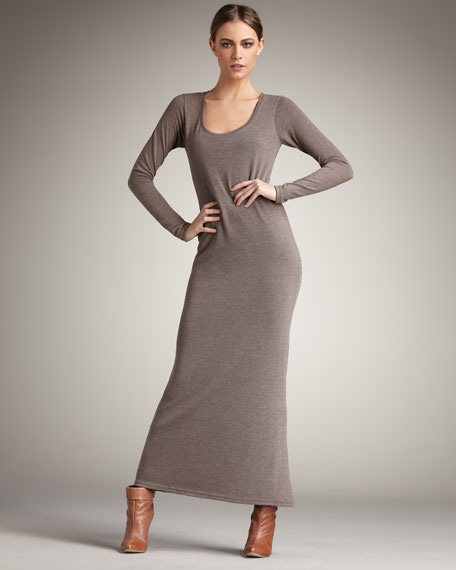 Dani Long-Sleeve Maxi Dress