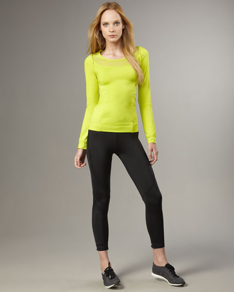 Cropped Running Tights