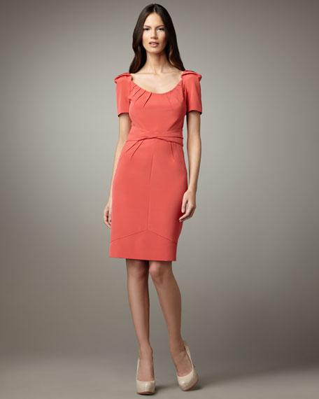 Scoop-Neck Stretch Dress