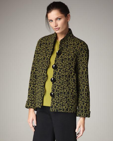 Boxy Knit Jacket
