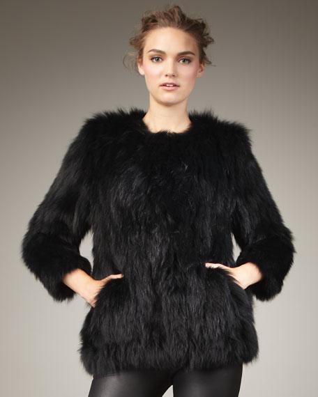 Box Fur Jacket