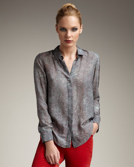 Burning Glitter Blouse
