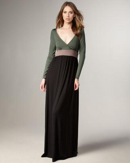 Daphne Colorblock Maxi Dress