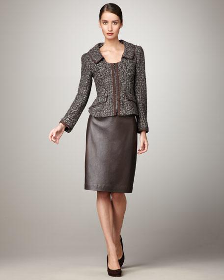 Tweed Jacket Suit