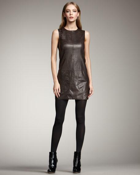 Leather Tunic Dress