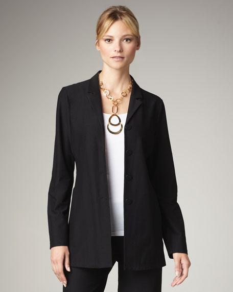 Washable-Crepe Jacket