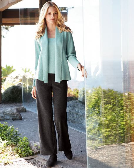 Eileen Fisher Links Cardigan, Cami & Luxe Pants,