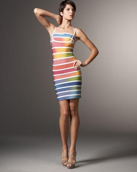 Rainbow Ombre Dress