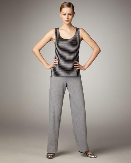 Stretch-Knit Pants