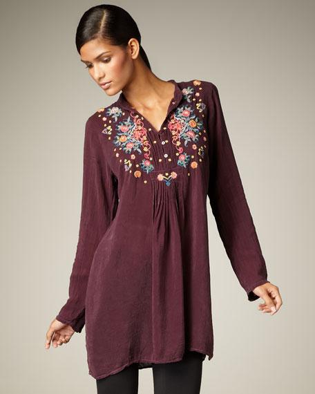 Daniella Embroidered Tunic, Women's