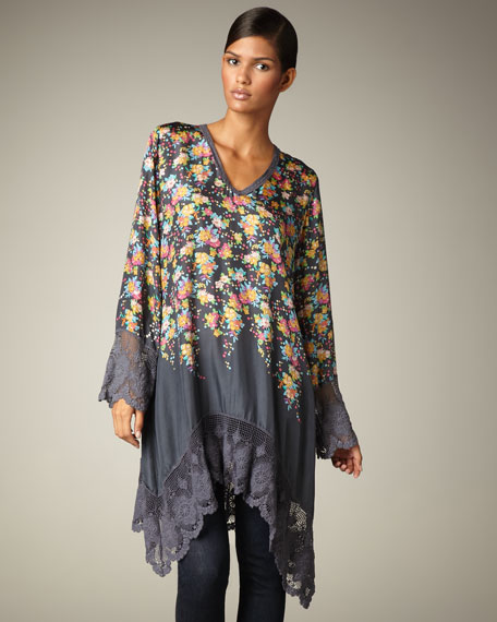 Lace-Trim Tunic, Women's