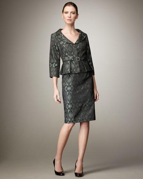 Python Jacquard Suit, Women's