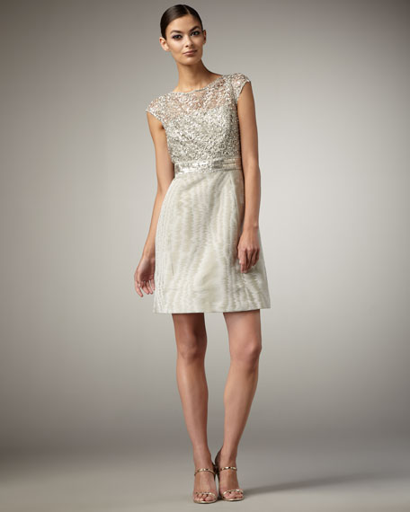 Sequined Cocktail Dress