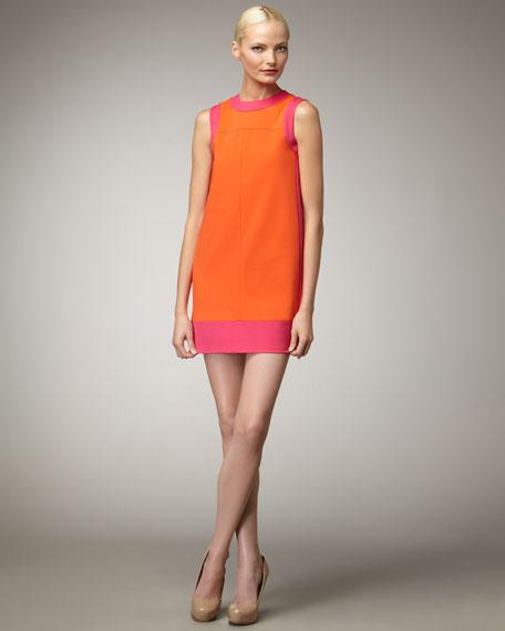 Scuba Colorblock Dress