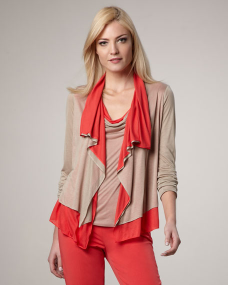 Athena Two-Tone Cardigan
