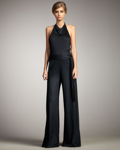 Adeola Open-Back Jumpsuit