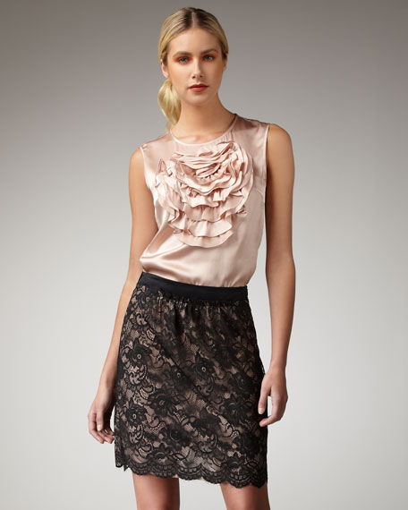 Frou Lace Skirt