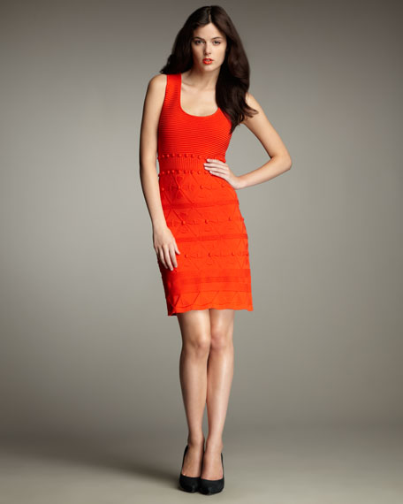 Bahia Jacquard Knit Dress