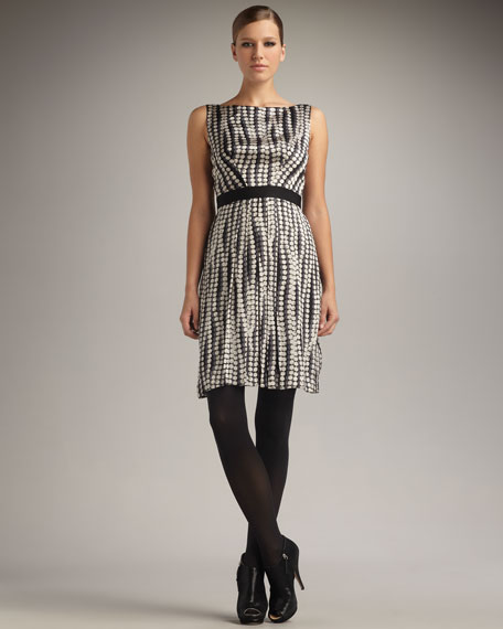 Giuliana Bubble-Print Dress