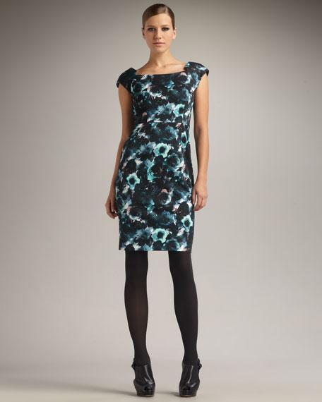 Katrina Printed Sheath Dress