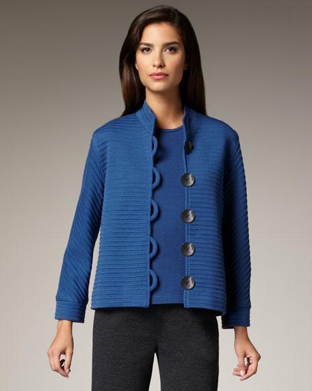 Knit Shell, Lapis, Women's