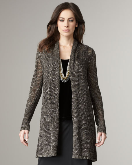 Sparkle Long Cardigan
