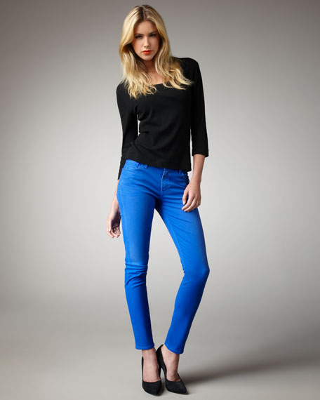 Thompson Cropped Skinny Pants