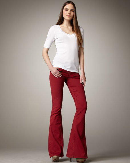 Angie Super-Flare Bell-Bottom Jeans