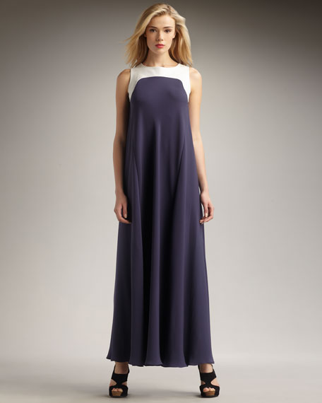 Penelope Colorblock Gown
