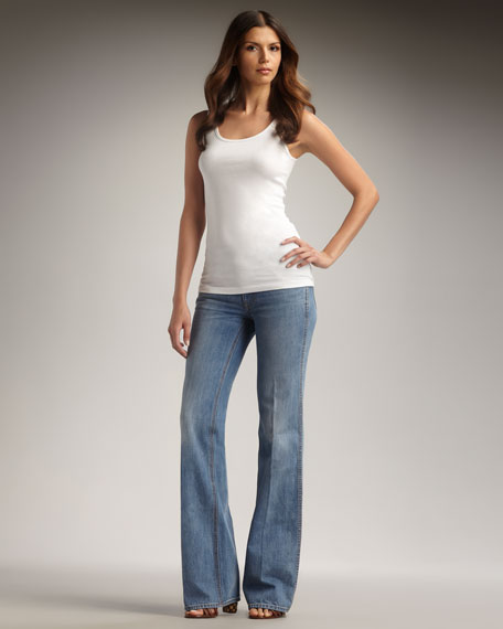 Leigh Flare Jeans
