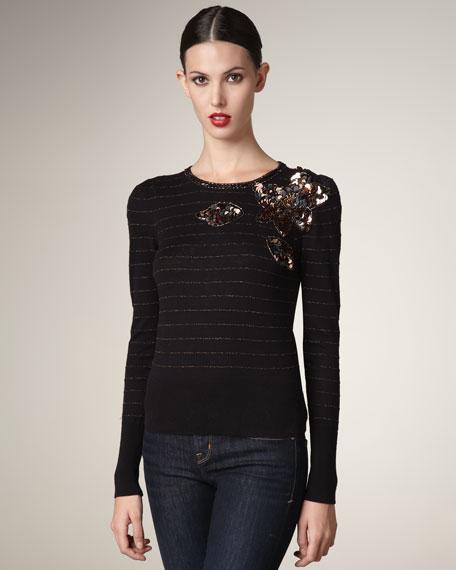 Gladiola Striped Sweater