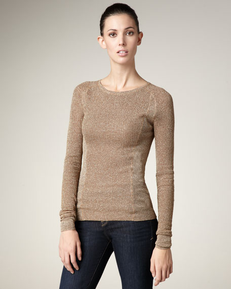 Shimmery Sweater