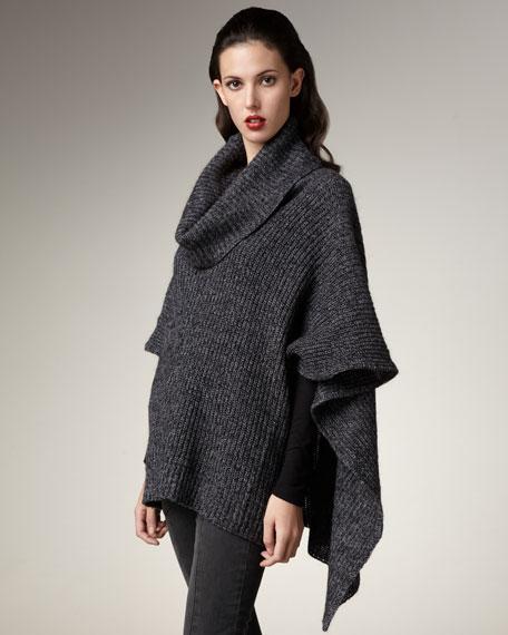 Turtleneck Sweater-Cape